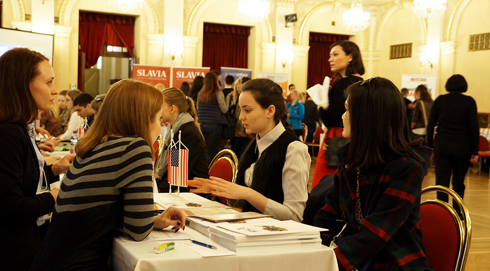 the educational fair in Prague msmstudy.eu